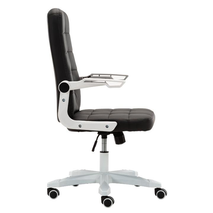 Irodai szék, fehérfekete, ZARGO Bútornagy